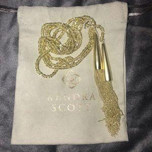Kendra Scott Phara Gold Necklace - NWT